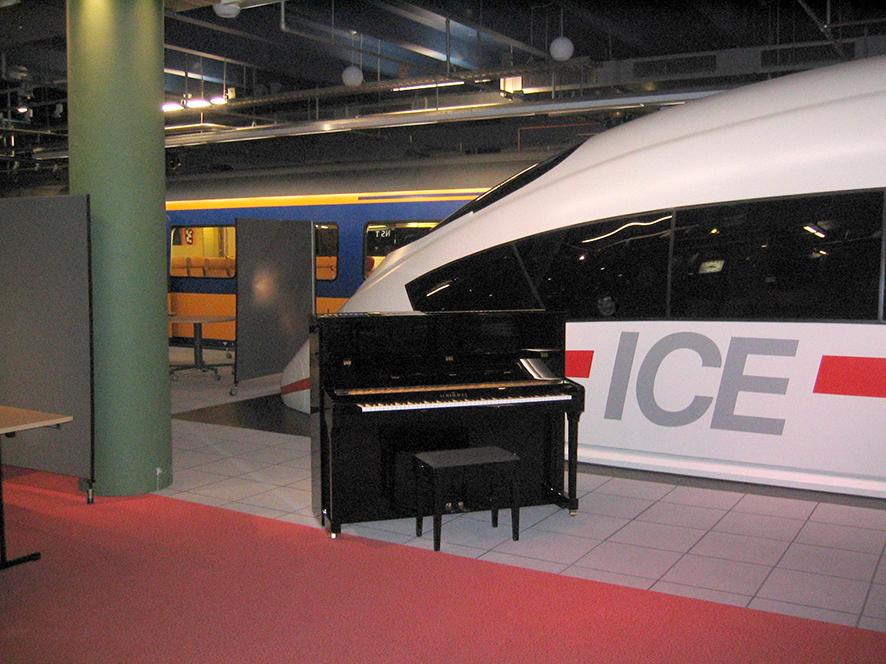 Piano op het station